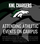 Attending a KML Athletic Event- Fall 2020