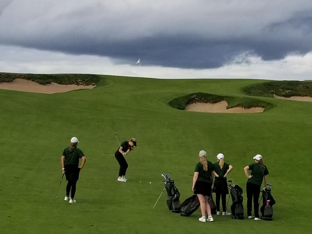 Girls Golf (9-17-20) – courtesy of Himm