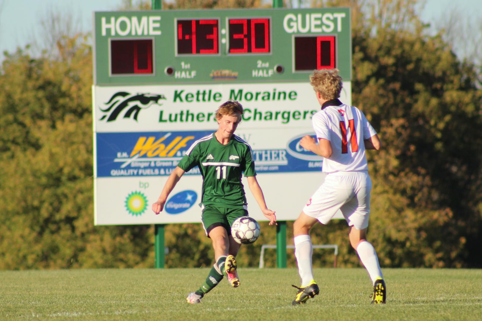 Boys Soccer (10-8-20) – courtesy of Leffel