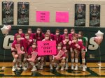 KML Volleyball THINKS PINK!