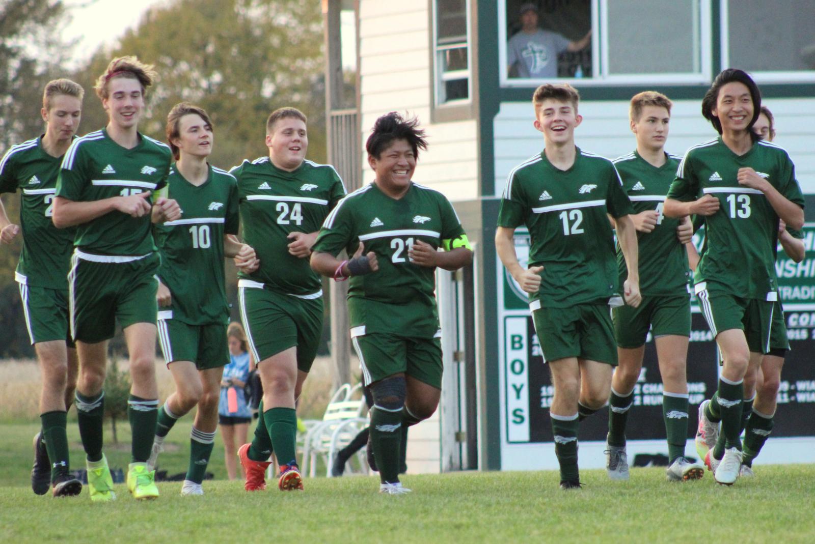 Boys Soccer (10-9-20) – courtesy of Leffel