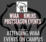Attending a KML/WIAA Postseason Event- Fall 2020