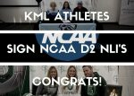 National Signing Day @ KML