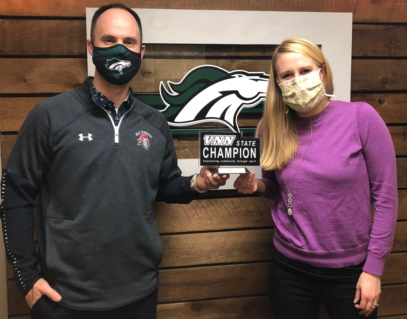 """KML Athletics Receives State Champion Award- """"Most Deeply Connected Sports Community"""""""