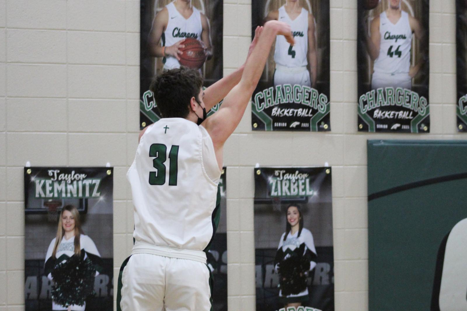 Varsity Boys Basketball (1-8-21) – courtesy of Leffel