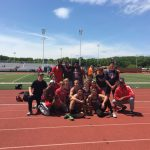 BOYS TRACK WINS DISTRICT TEAM TITLE