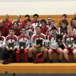 Boys Varsity Wrestling finishes 2nd place at RIVERSIDE High School-Painesville