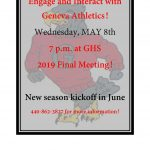 Engage and Interact with Geneva Athletics!