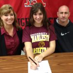 Brianna Rock Will Attend The University of Charleston (WVA) in the Fall