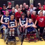 Wheelchair Basketball Game a HUGE Success