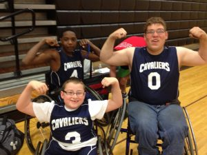 Wheelchair Basketball Game Photos