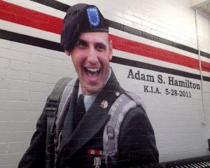 Spc. Adam S. Hamilton Fitness Center Dedication Pictures