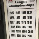 Recognition for 1967 and 1987 League Champion Football Teams