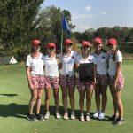 Kent Roosevelt High School Girls Varsity Golf finishes 1st place