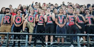 Varsity Football at Ravenna, Week 3