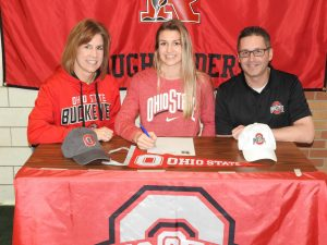 Kayla Fischer Athletic Signing – The Ohio State University
