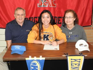 Kendra Kline Kent State University Signing Photos