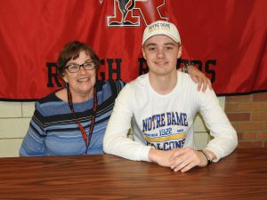 Kyle Smith Athletic Signing Pictures – Notre Dame College