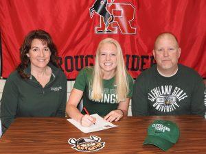 Korrin Spurlock Signing Pictures – Cleveland State University