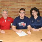 Ryan Dean Athletic Signing Pictures - Malone University