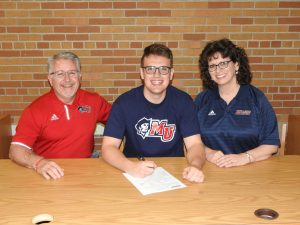 Ryan Dean Athletic Signing Pictures – Malone University