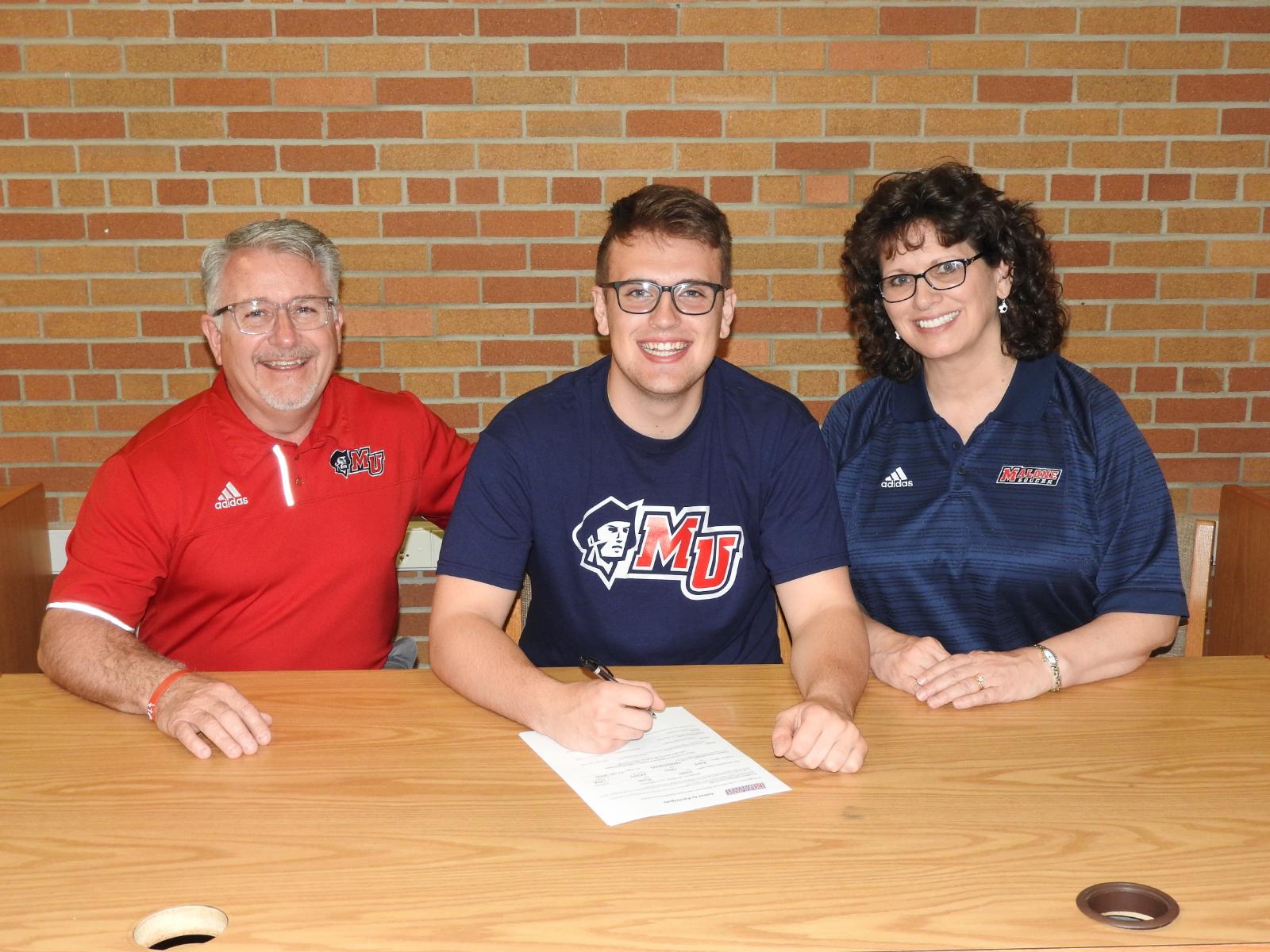 Senior Ryan Dean Selects Malone University