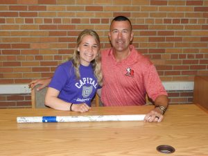 Bella McCarty Signing Pictures – Capital University