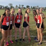 Girls Varsity Cross Country finishes 4th place at Marlington High School