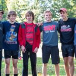 The Rough Rider Boys XC team competes at Bulldog Invitational