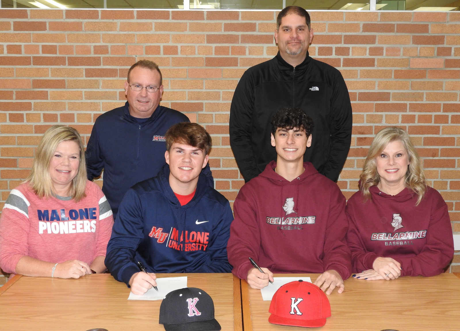 Common & Dile Commit to Playing Baseball at the College Level