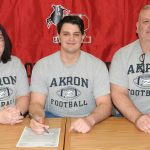 Joe Gavriloff Signing Pictures - University of Akron, 2-5-20