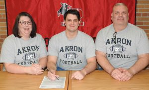 Joe Gavriloff Signing Pictures – University of Akron, 2-5-20