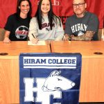 Kylie Hudson Commits to Hiram College