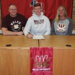 Nick Rothaermel Signing Pictures - Walsh, 2-21-20