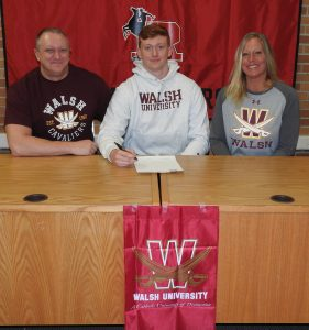 Nick Rothaermel Signing Pictures – Walsh, 2-21-20