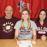 Carley Wolfgang Decides on Walsh University