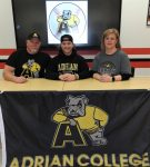 Alex Dabrowski to Attend Adrian College in the Fall