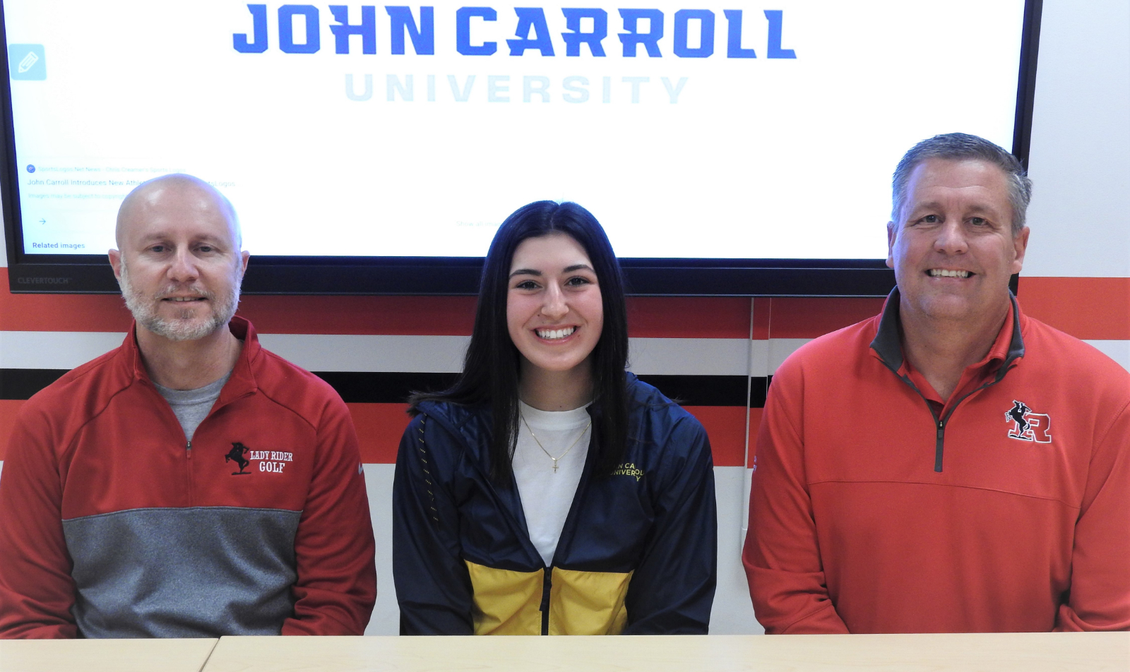 Isabella Mineo Athletic Signing Pictures – March 17, 2021