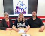 Rough Rider Andrya Hanmore Selects Hiram College
