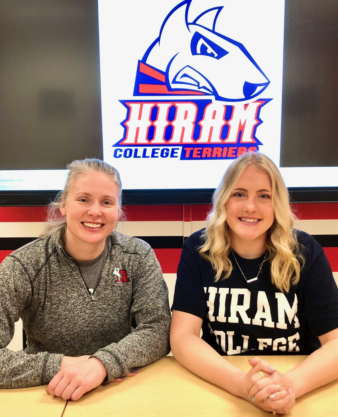 Andrya Hanmore Athletic Signing Pictures – March 18, 2021