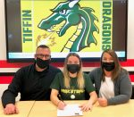 Ava Paolucci Athletic Signing Pictures - Tiffin University, March 25, 2021