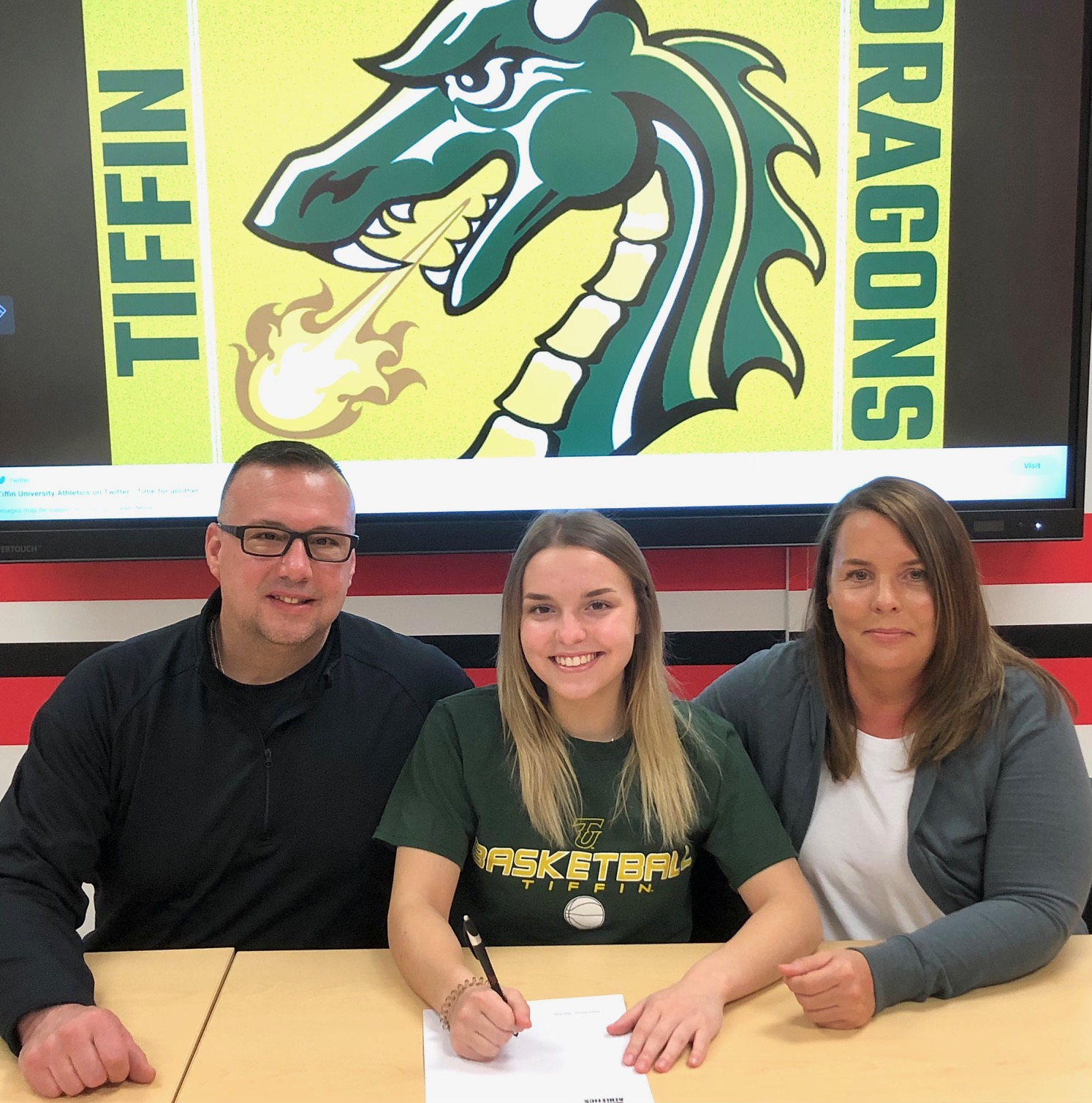 Ava Paolucci Athletic Signing Pictures – Tiffin University, March 25, 2021