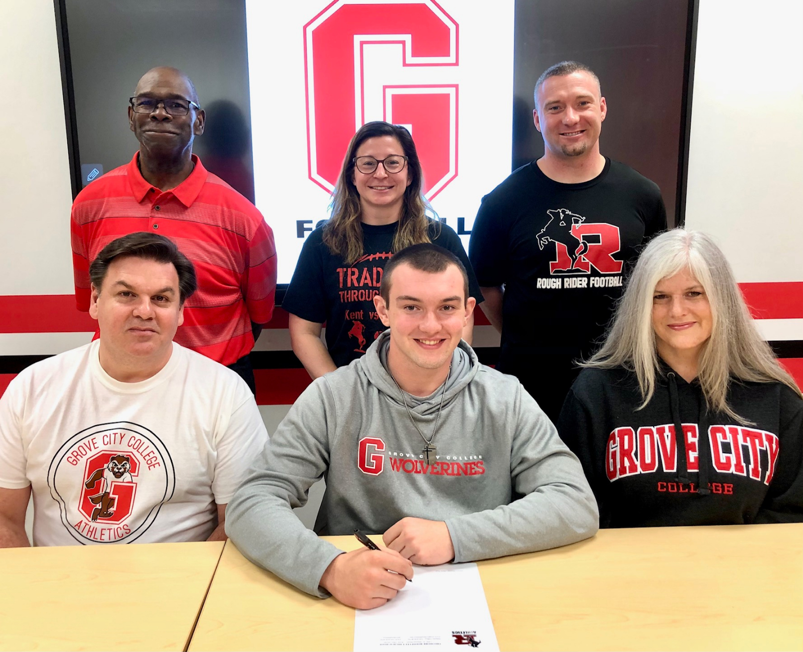 John Schwaben Athletic Signing Pictures – Grove City College, 4-8-21