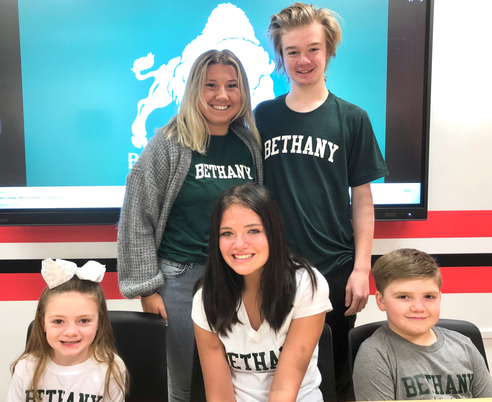 Abbie Carpenter Athletic Signing Pictures – Bethany College, 4-16-21
