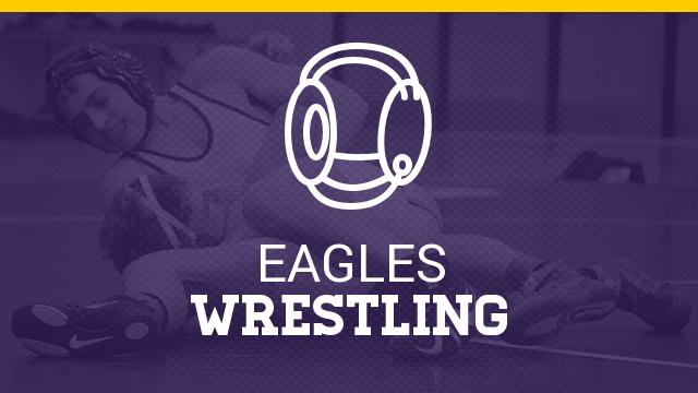 Wrestling Finishes 12th at Districts, Monebrake Qualifies to State