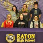 Eaton Athletes Make College Commitments