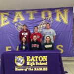 Six Eaton Athletes Make College Commitment