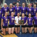 Volleyball Wins District Championship