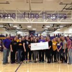 Volleyball Makes Donation to Susan G. Komen Foundation