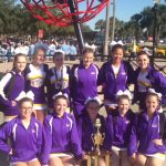 Competition Cheerleading Competes at Nationals